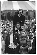 GEORGIA METCALFE, BELOW: BRENT GOSLING, DAVID OSBORNE, Christchurch Commen Ball, Oxford. June 1987