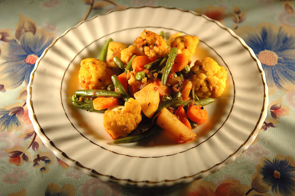 Mix Subzi - Mixed vegetables ( Recipe available upon request )