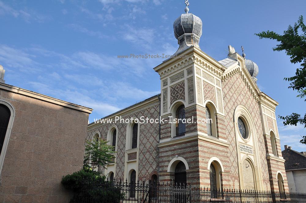 Eastern Europe, Hungary, Budapest, Ujpest Synagogue