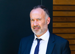 Fraud Investigator Mark Edmunds, 55, leaves his East London employment tribunal where he is contesting his dismissal from Tower Hamlets Council on the basis of racial discrimination. London, August 23 2019.