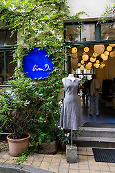 Lisa D fashion shop in Hackescher Markt courtyard in Berlin Germany
