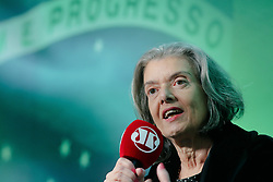 August 15, 2017 - Sao Paulo, Brazil - The president of the Federal Superior Court of Justice, Cármen Lúcia, participates in a debate, this Tuesday (15th), during the 4th edition of the Mitos and Facts Forum promoted by Rádio Jovem Pan, at the Tivoli hotel in São Paulo (Credit Image: © Dario Oliveira via ZUMA Wire)