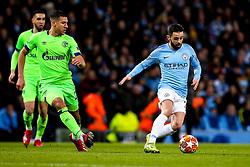 Bernardo Silva of Manchester City runs with the ball - Mandatory by-line: Robbie Stephenson/JMP - 12/03/2019 - FOOTBALL - Etihad Stadium - Manchester, England - Manchester City v Schalke - UEFA Champions League, Round of 16, 2nd leg