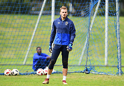 Cape Town-180801-Cape Town City's new goalkeeper Peter Leeuwenburgh  at training session at Hartleyvale Stadium, ahead of their opening game of the 2018/2019 PSL season against Supersport United at Cape Town Stadium on saturday.Photograph:Phando Jikelo/African News Agency/ANA