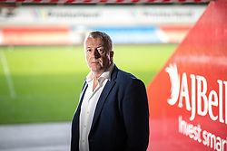 © Licensed to London News Pictures . 24/09/2018 . Trafford , UK . ANDY BELL of AJ Bell Financial Services at the AJ Bell Stadium , which the business sponsors , in Trafford . The business is due to be floated on the Stock Market at the start of 2019 . Photo credit : Joel Goodman/LNP