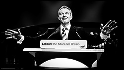 Prime Minister Tony Blair arrives on stage for his   last Conference speech at the Labour Party Conference ,Manchester PRESS ASSOCIATION Photo. Picture date:Tuesday 26th September , 2006. Photo credit should read: Andrew Parsons/PA.