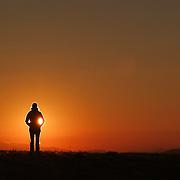 Sunrise at Max Patch, near Ashville, NC.