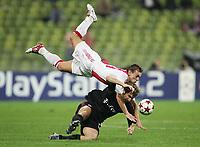 Fotball ,28. september 2004,Champions League,  <br />  FC Bayern München - Ajax Amsterdam<br /> v.l. Wesley Snyder, Torsten Frings Bayern
