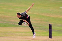Josh Davey of Somerset in action.  - Mandatory by-line: Alex Davidson/JMP - 22/07/2016 - CRICKET - Th SSE Swalec Stadium - Cardiff, United Kingdom - Glamorgan v Somerset - NatWest T20 Blast