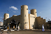 Reconstructed gateway in the centre of Al Ain, United Arab Emirate of Abu Dhabi.