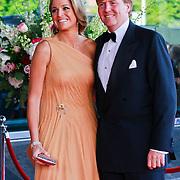 NLD/Amsterdam/20110527 - 40ste verjaardag Prinses Maxima, Prinses Maxima en Kroonprins Willem Alexander