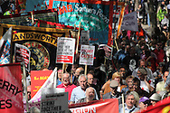 May Day March from Clerkenwell Green to Trafalgar Square