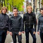 NLD/Amsterdam20150515 - De Nederlandse band Moke brengt een nieuwe singel uit, bandleden