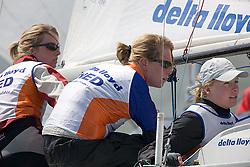 08_01059 © Sander van der Borch. Medemblik - The Netherlands,  May 21th 2008 . First day of the Delta Lloyd Regatta 2008.