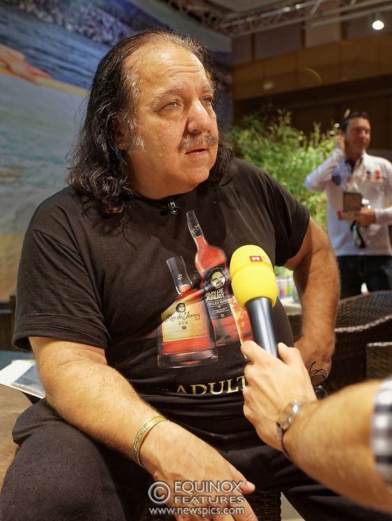 Berlin, Germany - 18 October 2012<br /> Porn star Ron Jeremy promoting his 'Ron Jeremy' brand of rum at the Venus Berlin 2012 adult industry exhibition in Berlin, Germany. Ron Jeremy, born Ronald Jeremy Hyatt, has been an American pornographic actor since 1979. He faces sexual assault allegations which he strenuously denies. There is no suggestion that any of the people in these pictures have made any such allegations.<br /> www.newspics.com/#!/contact<br /> (photo by: EQUINOXFEATURES.COM)<br /> Picture Data:<br /> Photographer: Equinox Features<br /> Copyright: ©2012 Equinox Licensing Ltd. +448700 780000<br /> Contact: Equinox Features<br /> Date Taken: 20121018<br /> Time Taken: 12152702