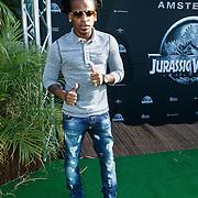 NLD/Amsterdam/20150610 -Premiere film Jurassic World 3D Imax, Rapper Keizer