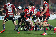 GLOUCESTER RUGBY'S Will Flinn  during the Gallagher Premiership Rugby match between Gloucester Rugby and Harlequins at the Kingsholm Stadium, Gloucester, United Kingdom on 6 December 2020.
