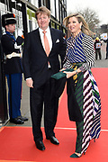 Koninklijke familie arriveert bij de Oosterpoort voor het Koningsdagconcert<br /> <br /> Royal family arrives at the Oosterpoort for the King's Day concert<br /> <br /> Op de foto / On the photo:  Koning Willem-Alexander en Koningin Maxima // King Willem Alexander and Queen Maxima