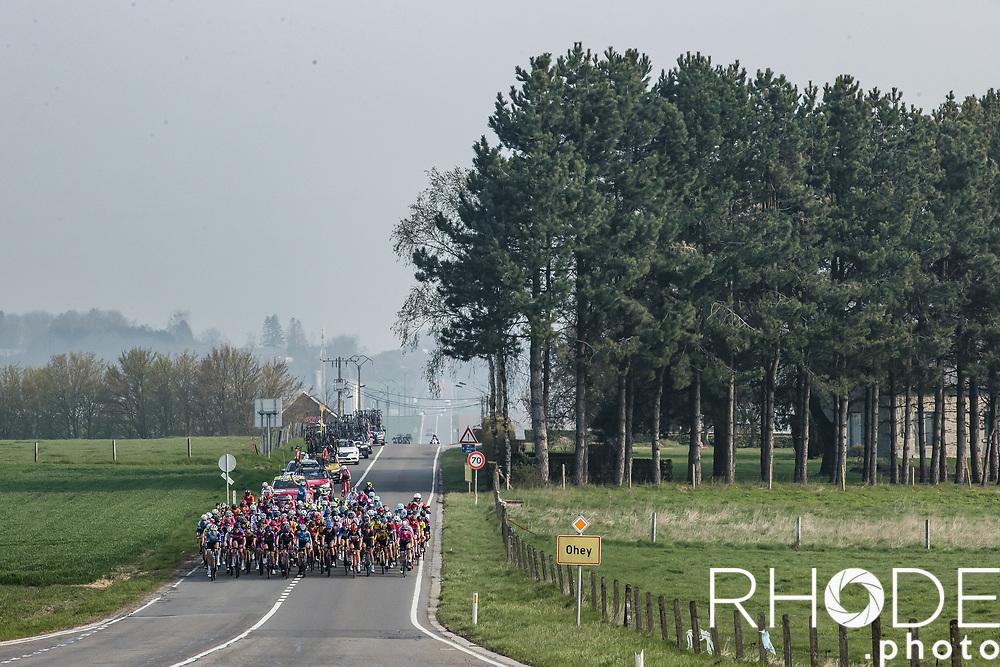 peloton <br /> <br /> 24th la Flèche Wallonne Féminin 2021 (1.UWT)<br /> 1 Day Race: Huy – Huy 130,5km<br /> <br /> ©RhodePhoto
