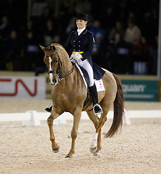 Holzer Ashley (CAN) - Pop Art<br /> Exquis World Dressage Masters - Wellington 2010<br /> © Hippo Foto - Cealy Tetly