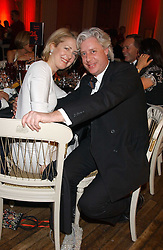 MARIE CLAIRE AGNEW and JAMES OLIVER at a charity dinner 'By Imperial Command' - a Chinese New Year Gala Dinner in aid of the charity Kids held at The Banqueting House, Whitehall, London on 8th February 2006.<br /><br />NON EXCLUSIVE - WORLD RIGHTS