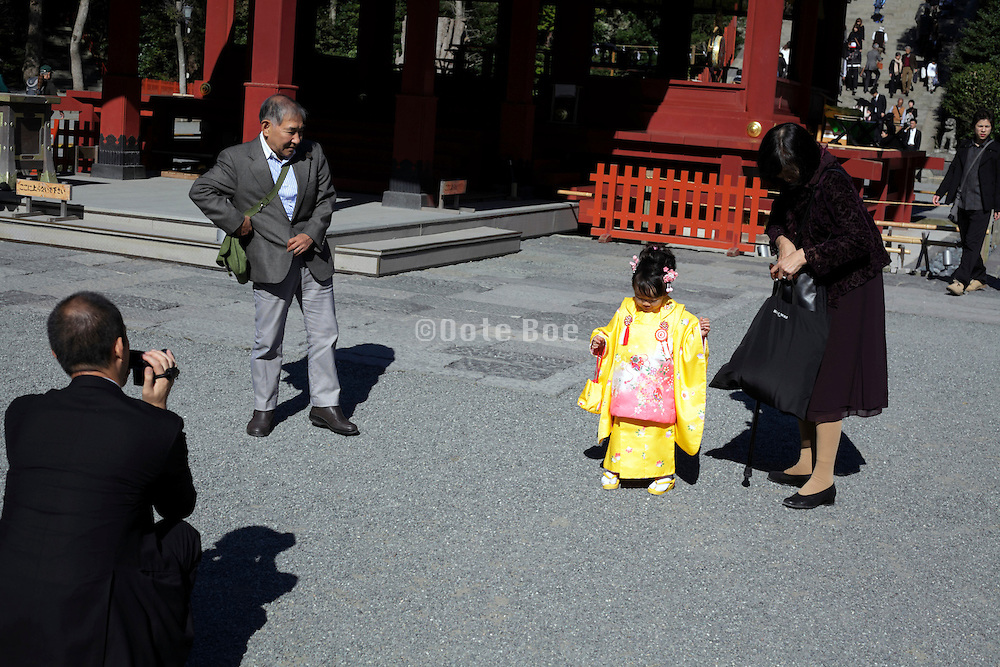 Japan celebration of 3 5 and 7 year of age called Shichi Go San