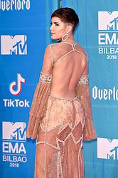 November 4, 2018 - Bilbao, Bizkaia, Spanien - Halsey bei der Verleihung der MTV European Music Awards 2018 in der Bizkaia Arena. Bilbao, 04.11.2018 (Credit Image: © Future-Image via ZUMA Press)