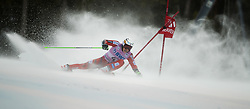 December 3, 2017 - Beaver Creek, Colorado, U.S. - HENRIK KRISTOFFERSEN of Norway on the first run of the Men's Giant Slalom of the 2017 Audi FIS Birds of Prey World Cup Sunday. Kristoffersen finished second overall. (Credit Image: © Erich Schlegel via ZUMA Wire)