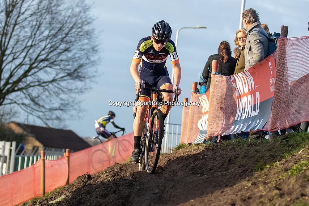 11-01-2020: Wielrennen: NK Veldrijden: Rucphen <br />David Haverdings