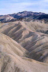 CA: Death Valley National Park Zabriskie Point   .Photo by Lee Foster, lee@fostertravel.com, www.fostertravel.com, (510) 549-2202.Image: cadeat202