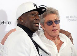 Grandmaster Flash and Roger Daltrey arriving to the We Are Family Foundation Celebration Gala at Hammerstein Ballroom on April 27, 2018 in New York City, NY, USA. Photo by Dennis van Tine/ABACAPRESS.COM
