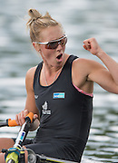 Lucerne, SWITZERLAND<br /> <br /> NZL W1X, Winner Emma TWIGG, at the 2016 European Olympic Qualifying Regatta, Lake Rotsee.<br /> <br /> Tuesday  24/05/2016<br /> <br /> [Mandatory Credit; Peter SPURRIER/Intersport-images]2016 European Olympic Qualifying Regatta, Lake Rotsee.<br /> <br /> Tuesday  24/05/2016<br /> <br /> [Mandatory Credit; Peter SPURRIER/Intersport-images]