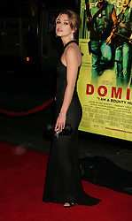 """Keira Knightley at the premiere of """"Domino"""".<br />(Los Angeles, CA)"""