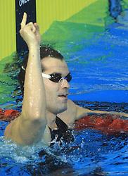 Peter Mankoc, Men`s 100m Individual Medley, at 3rd day of Semifinals of LEN European Short Course Swimming Championships Rijeka 2008, on December 13, 2008,  in Kantrida pool, Rijeka, Croatia. (Foto: Vid Ponikvar / Sportida)