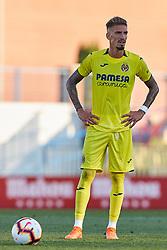 July 17, 2018 - Villareal, Castellon, Spain - Samuel Castillejo of Villarreal CF looks on during the Pre-Season Friendly match between Villarreal CF and Hercules CF at Mini Estadi on July 17, 2018 in Vila-real, Spain  (Credit Image: © David Aliaga/NurPhoto via ZUMA Press)