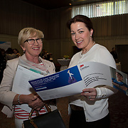 23.05.2018.       <br /> Today, the Institute of Community Health Nursing (ICHN) hosted its2018 community nurseawards in association withHome Instead Senior Care,at its annual nursing conference, in the Strand Hotel Limerick, rewarding public health nurses for their dedication to community care across the country. <br /> <br /> Pictured at the event were, Denise Keohane and Sionhan McCarthy, 3M Ireland. Picture: Alan Place