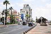 Israel, Tel Aviv the beachfront promenade