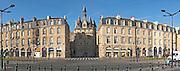 Porte Cailhau. On Les Quais. Bordeaux city, Aquitaine, Gironde, France