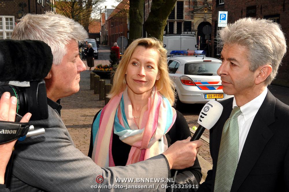 NLD/Naarden/20070406 - Mattheus Passion 2007, Ronald Plasterk en partner Els