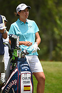 Carlota Ciganda (ESP) looks over her tee shot on 11 during round 2 of the 2019 US Women's Open, Charleston Country Club, Charleston, South Carolina,  USA. 5/31/2019.<br /> Picture: Golffile | Ken Murray<br /> <br /> All photo usage must carry mandatory copyright credit (© Golffile | Ken Murray)