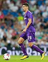 ACF Fiorentina's Gil Dias during Santiago Bernabeu Trophy. August 23,2017. (ALTERPHOTOS/Acero)