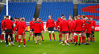 Rugby Union - 2019 Rugby World Cup - Wales Training Captain's Run pre-Semi-Final <br /> <br /> Welsh training at International Stadium Yokohama, Kanagawa Prefecture, Yokohama City.<br /> <br /> COLORSPORT/LYNNE CAMERON