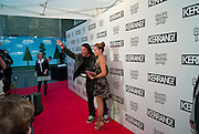 Robert Trujillo of Metallica and his wife Chloe, Kerrang Awards 2009. Whitbread Brewery. Chiswell st. London. 3 August 2009.
