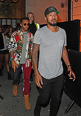 Neymar Jr and Lewis Hamilton out partying - 20 Sep 2017