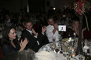 Vince Leigh and Jason McCue,  Costa Book Awards 2006. Grosvenor House Ballroom. Park Lane, London. 7 February 2007. -DO NOT ARCHIVE-© Copyright Photograph by Dafydd Jones. 248 Clapham Rd. London SW9 0PZ. Tel 0207 820 0771. www.dafjones.com.