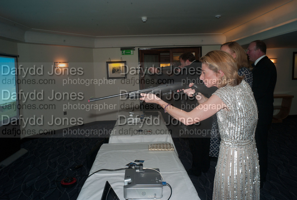 LAURA DUCKWORTH-CHAD, Game & Wildlife Conservation Trust's Ball. Savoy Hotel. London. 6 November 2013.