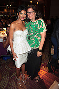 October 19, 2012-New York, NY: (L-R) On-Air Personality Tamron Hall and Fern Mallis, President, Fern Mallis Llc & Creator NY Fashion Week at the BRAG 42nd Annual Scholarship & Scholarship Awards Dinner Gala held at Pier Sixty at Chelsea Piers on October 19, 2012 in New York City. BRAG, a 501 (c) (3) not for profit organization, is dedicated to the inclusion of African Americans and all people of color in retail and related industries.  (Terrence Jennings)