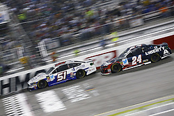 September 22, 2018 - Richmond, Virginia, United States of America - Cole Custer (51) battles for position during the Federated Auto Parts 400 at Richmond Raceway in Richmond, Virginia. (Credit Image: © Chris Owens Asp Inc/ASP via ZUMA Wire)