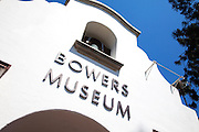 Bell Tower of Bowers Museum in Santa Ana California