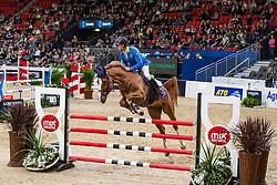 Ahlmann Christian, GER, Mandato van de Neerheide<br /> LONGINES FEI World Cup™ Finals Gothenburg 2019<br /> © Dirk Caremans<br /> 04/04/2019